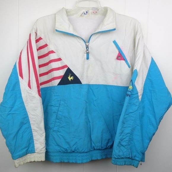 a08b3488de5 Le Coq Sportif Other - Vintage Le Coq Sportif Spell Out Track Jacket